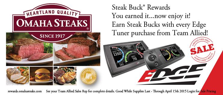 Team Allied Edge Products Rebate Save Omaha Steaks