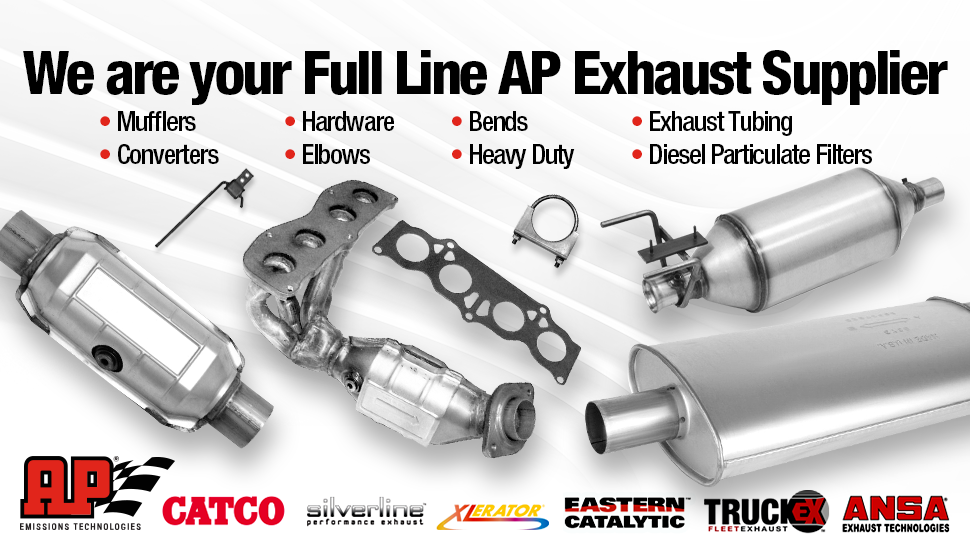 We Are Your Full Line AP Exhaust Supplier
