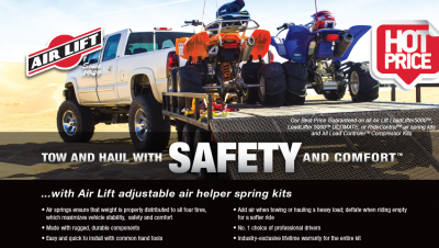 Air Lift Helper Spring Kit Sale