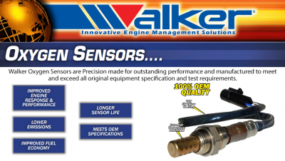 Walker Products O2 Sensors