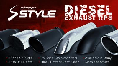 Diesel Large Exhaust Tips